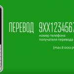 Перевод на карту сбербанка по телефону через 900